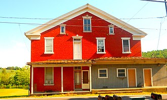Monroe Township, Juniata County, Pennsylvania - Building in Evendale
