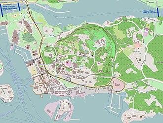 karta djurgården Evenemangsparken Södra Djurgården – Wikipedia karta djurgården