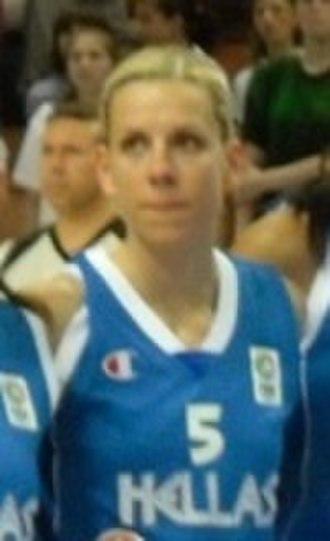 Olympiacos Women's Basketball - Image: Evina Stamati