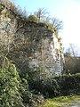 Ex cava Spinazzola, formazione rocciosa (Rovolon) 05.jpg