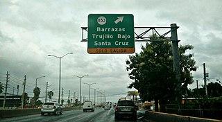 Santa Cruz, Carolina, Puerto Rico Barrio of Puerto Rico