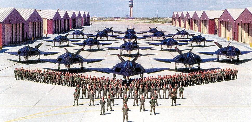 F-117 Nighthawks at Holloman AFB New Mexico