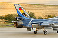 F-16 de la Fuerza Aérea Belga en Vigo (7617846564).jpg