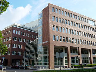 Frankfurter Allgemeine Zeitung - Editorial department building of Frankfurter Allgemeine Zeitung