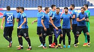 FC Viitorul Constanța - Viitorul Constanța's players in August 2017.