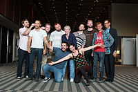 FDC at Wikimania 2015 + others - fun.jpg