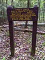 FLT M10 11.2 mi - Sign near Burt Hill Lean-to register - panoramio.jpg