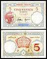 FRA-Somaliland-11-Banque de l'Indochine (Djibouti)-5 Francs (1943).jpg