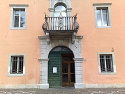 Facade of the Palazzo Municipale of Farra d'Isonzo.jpg