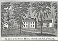 Fairfield Connecticut Town Green Woodcut c1840.jpg