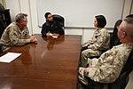 Faith has no uniform, British Islamic religious advisor visits with U.S. Marines 140126-M-PF875-520.jpg