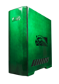 Falcon Northwest Mach V desktop PC in Jade paintwork.png