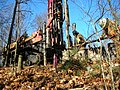 Fall River-Freetown Route 24 Exit 8B (ARRA) Begins Fall 2009- Soil Test Work (4203507805).jpg