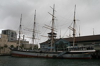 Falls of Clyde (ship) - Image: Fallsof Clyde Sailing Ship