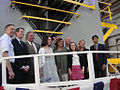 Family and VIPs at the Keel Laying of the USCGC Bernard C. Webber.jpg