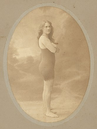 Fanny Durack - Image: Fanny Durack 03 State Library of New South Wales a 468005u
