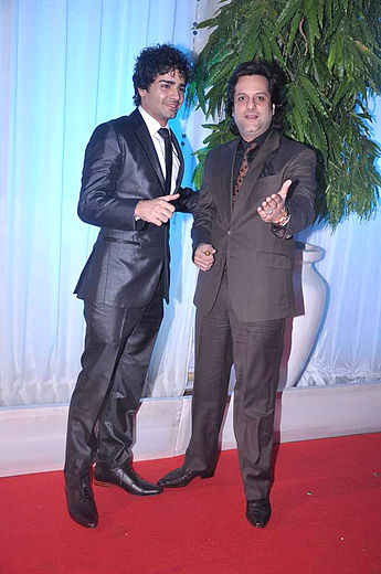 Fardeen Khan at Esha Deol's wedding reception 16.jpg