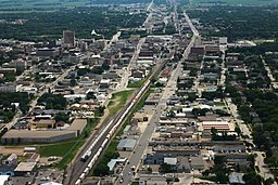 Fargo, ND - Aerial Facing East (43610135662)