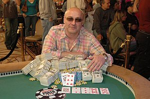 Farzad Bonyadi - Bonyadi at the 2005 World Series of Poker