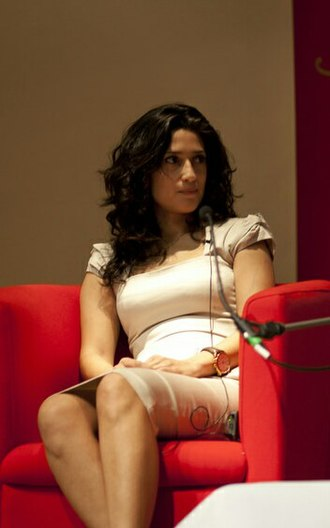 Fatima Bhutto - Bhutto speaking at SOAS in 2013