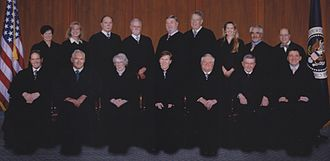 Alice Corp. v. CLS Bank International - The judges of the Federal Circuit in 2012.