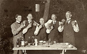 Snaps - Snaps drinking in Sweden, early 20th century.