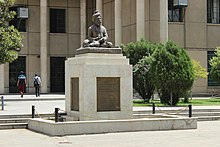 Ferdowsi Statue in Front of Literature Faculty.jpg