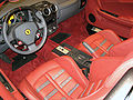 Ferrari F430 interior at 2006 Chicago Auto Show.jpg
