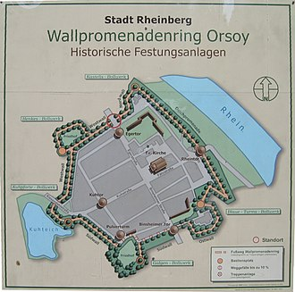 Orsoy, Germany - Image: Festung.Orsoy