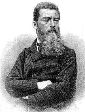 Ludwig Feuerbach, by August Weger (1823-1892)
