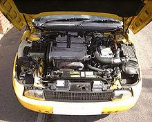 Il motore della Fiat Coupé
