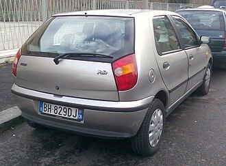 Fiat Palio - Fiat Palio (Italy)