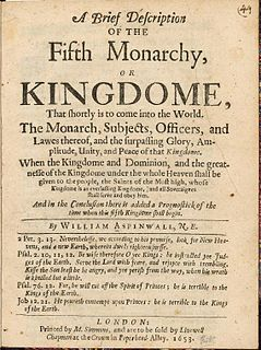 Fifth Monarchists Apocalyptic Puritan group