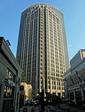 Fifth Third Center (Charlotte) - Image: Fifth Third Center Charlotte