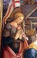 Filippo lippi, adorazione del bambino con s.vincenzo ferrera, 1455-1466, da s. domenico a prato 03.jpg