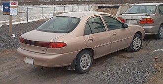 Ford Escort (North America) - Ford Escort sedan