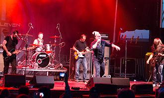 Finger Eleven - Finger Eleven performing at the Hamilton Festival of Friends