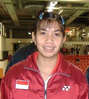 Adriyanti Firdasari Badminton player