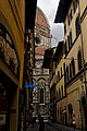 Firenze - Florence - Via dei Servi - View SW towards il Duomo II.jpg