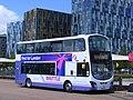 First Shuttle bus, 37267 BG12 YJZ. Greenwich peninsula SE10 (7721493368).jpg
