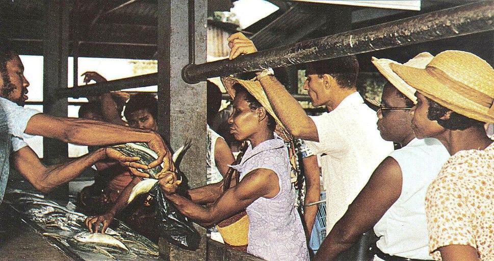 Fish market Seychelles 1