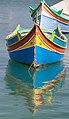 Fishing boats at Marsaxlokk 6 (6946296999).jpg