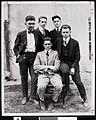 Five USC Kappa Psi Gamma pledges, 1917 (uaic-fra-1880-1920-003~1).jpg