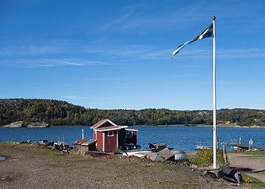 Flagpole at Loddebo.jpg