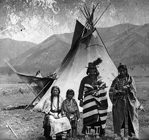 Confederated Salish and Kootenai Tribes of the Flathead Nation - Flathead family