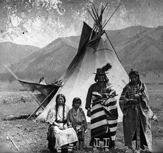 Confederated Salish and Kootenai Tribes - Flathead family