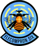 Fleet Composite Squadron 6 (US Navy) insignia 1984 (6391502).png