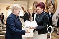 Flickr - Saeima - Solvita Āboltiņa tiekas ar Daļu Grībauskaiti (1).jpg