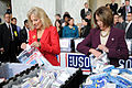 Flickr - The U.S. Army - Jill Biden and Nancy Pelosi make care packages.jpg