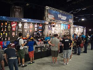 WrestleMania Axxess - Image: Flickr simononly WWE Fan Axxess Shop